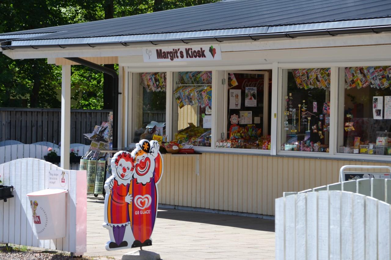 Margits kiosk exteriör